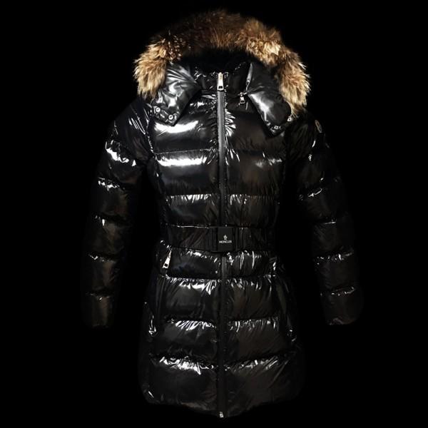 Moncler Coat Kadın Mont Siyah