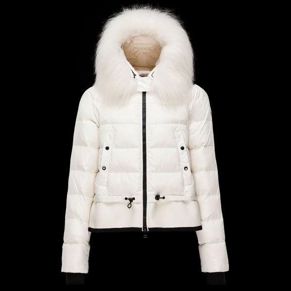 Moncler Mont Veanne Kadın Beyaz