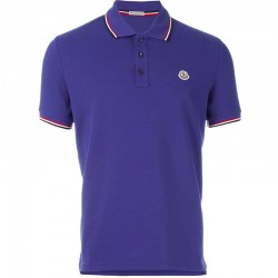 Moncler Polo T-Shirt Mavi