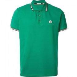 Moncler Polo T-Shirt Yeşil