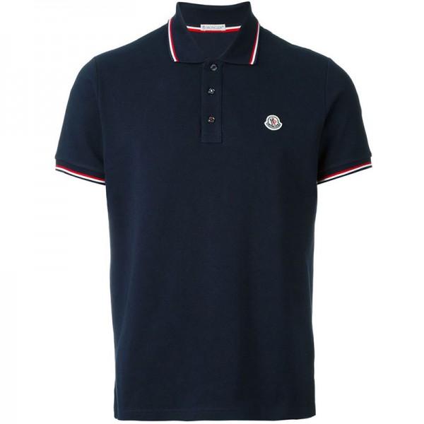 Moncler Polo T-Shirt Lacivert