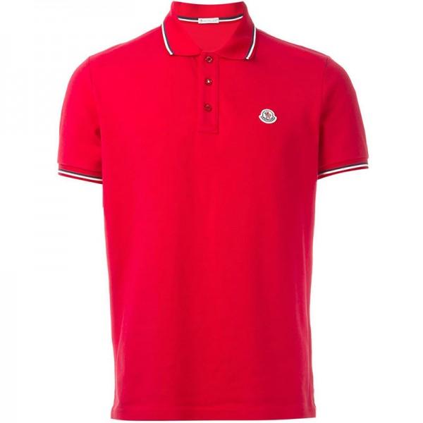 Moncler Polo Kırmızı T-Shirt