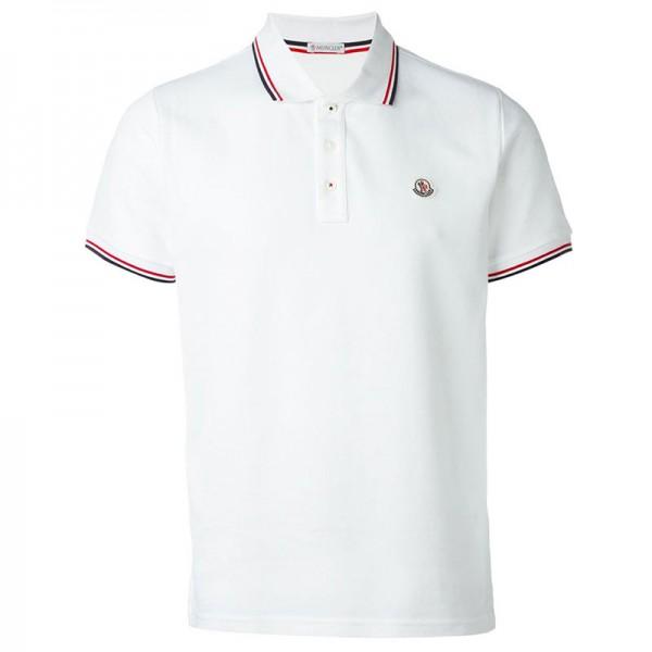 Moncler Polo T-Shirt Beyaz