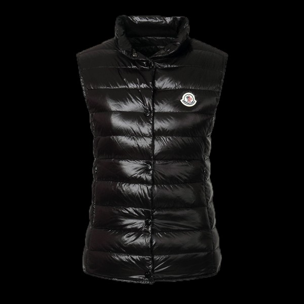 Moncler Yelek Siyah Vest