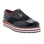 Prada Erkek Ayakkabı Siyah Deri